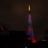 東京タワー嵐カラーライティング